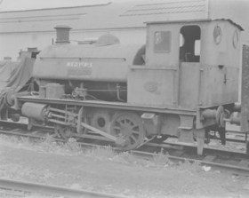 "R. & W.Hawthorn, Leslie & Co.Ltd. 0-4-0ST, Works No.3863/1935. ""GOLIATH"""