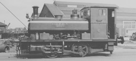 """Andrew Barclay, Sons & Co.Ltd. 0-4-0ST, Works No.2220/1946. """"INVICTA"""""""