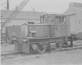 "F. C. Hibberd & Co. Ltd., 4wDM, FH3738/1955. ""ROCHESTER CASTLE"""