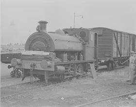 "Robert Stephenson & Hawthorns Ltd, 0-4-0ST, Works No.7042/1941.""AJAX"""