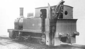 "Vulcan Foundry Ltd. 0-4-0CT, Works No.1436/1895. ""SHOEBURYNESS"""